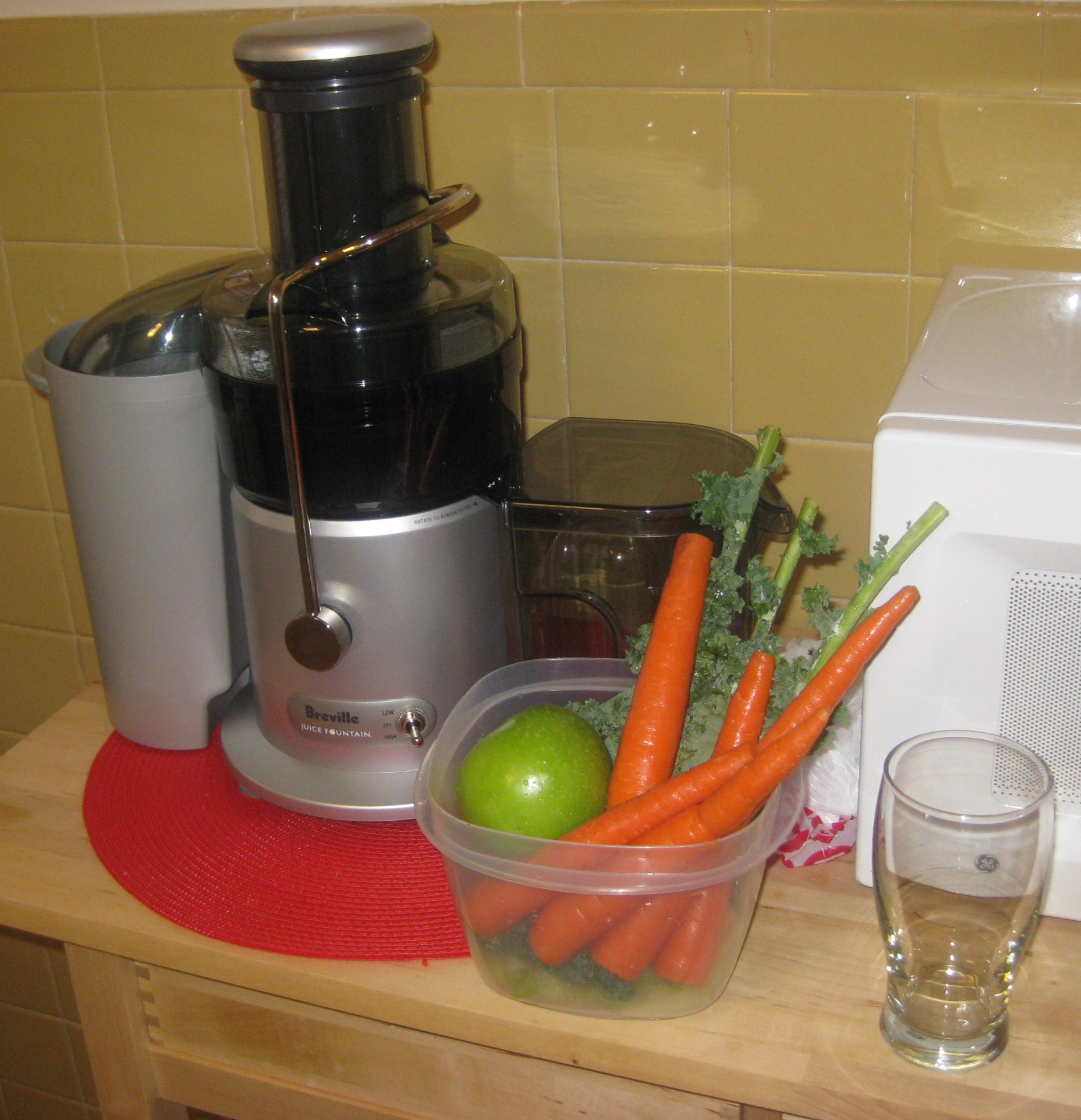 how to use my breville juicer