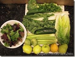 everything green ingredients