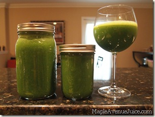 everything green juice