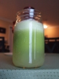 celery apple and romaine green juice