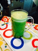 cucumber romaine orange pineapple green juice