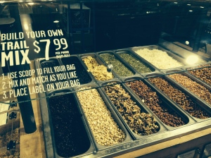 You can make your own custom trail mix! nice :-)