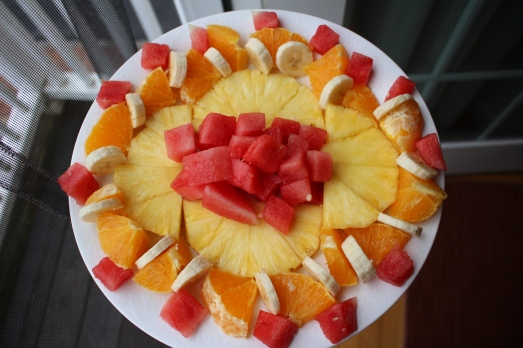 fruit platter for breakfast